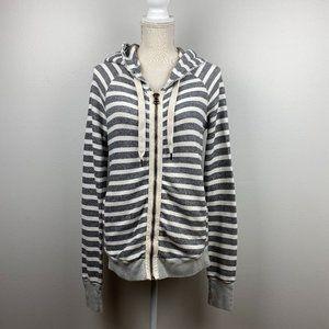 NSF Chada Gray Striped Hoodie